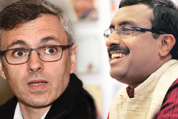 Prove allegation or apologise: Omar to Ram Madhav