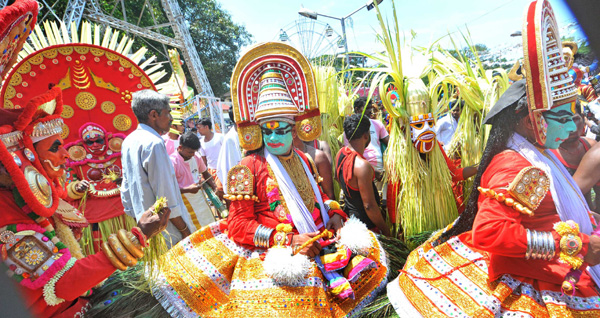Cultural celebration marking beginning of Onam held