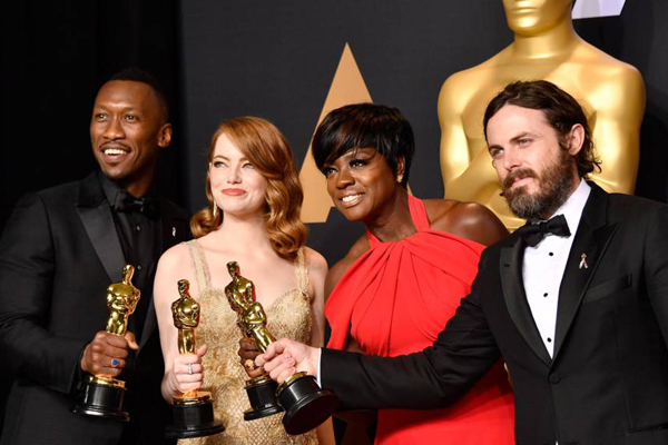 A global protest at the Oscars