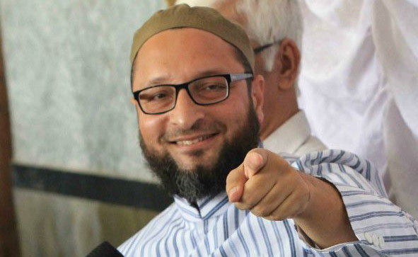 BJP insulting martyrs like Karkare, says Owaisi