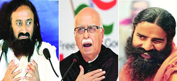 Ramdev, Rajinikanth, Sri Sri, Advani, Bachchan to get Padma awards