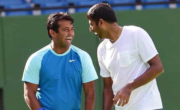 Davis Cup: Paes, Bopanna keep India afloat with doubles win