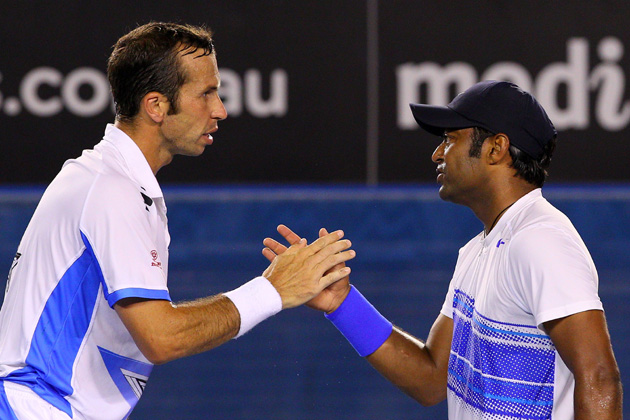 Paes-Stepanek steamroll into US Open semis