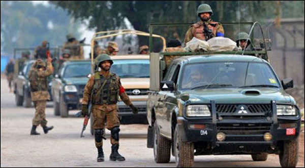 Six terrorists killed in attack on Pakistan Air Force camp
