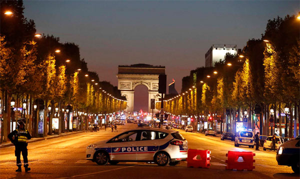 IS claims responsibility for Paris shooting that killed a policeman