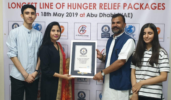 Indian expats charity sets iftar distribution record in UAE
