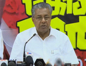 Vellapally should clarify their alliance with BJP: Pinarayi