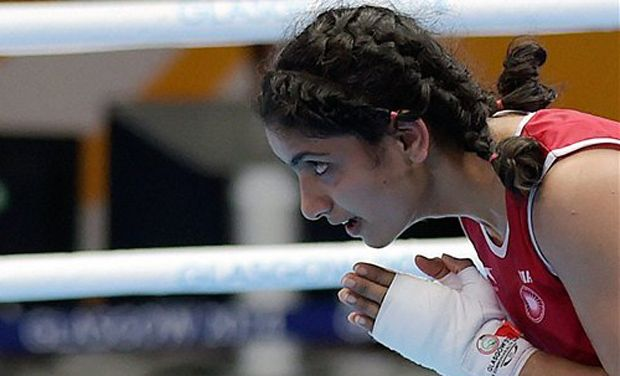 Pinki brings Indias first boxing medal