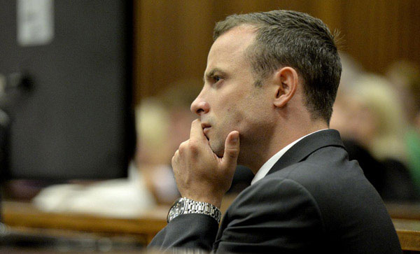 Pistorius gets 5 years jail for girlfriends death