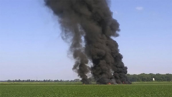 16 dead in US military plane crash in Mississippi: reports