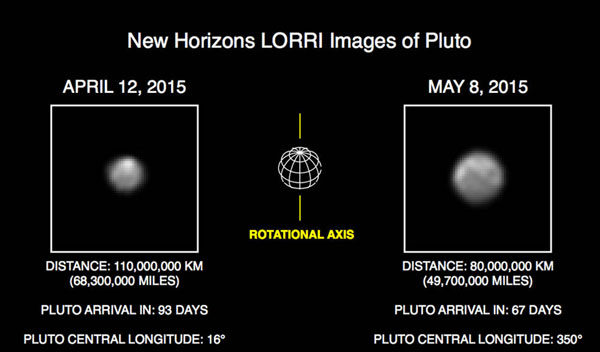 New Pluto images reveal more details