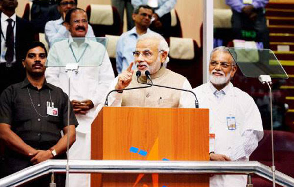 Mars mission a shining symbol of what we are capable: Modi