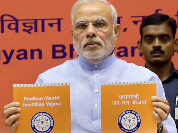 PM Jan Dhan Yojana launched; 1.5 crore bank accounts opened in a day