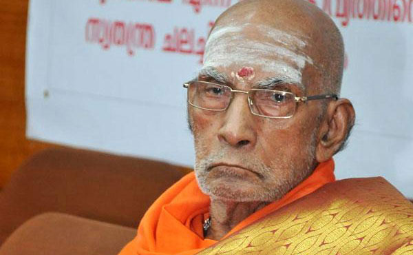 Swami Saswathikananda was murdered, says head of Sivagiri Mutt