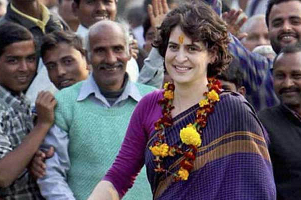 BJP feels Priyanka taking up UP role will be beneficial against BSP-SP alliance
