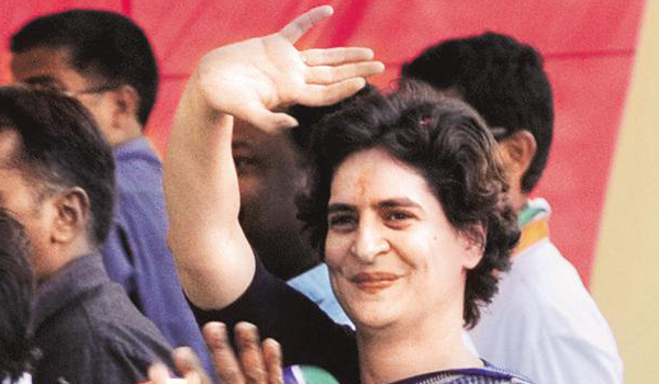 Priyanaka named Congress General Secretary for UP East