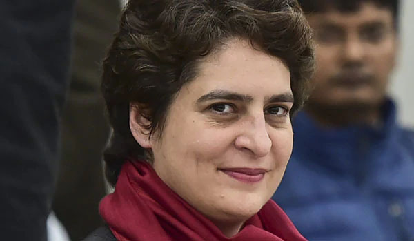 Priyanka Gandhi logs in to Twitter