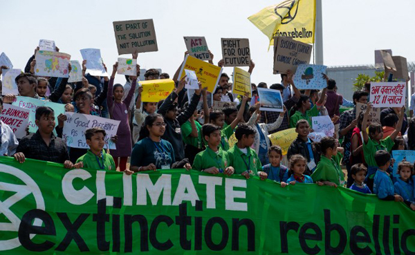 No Planet B: Global youth demo for climate kicks off