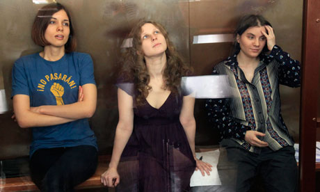 Anger in Russia as Pussy Riot jailed