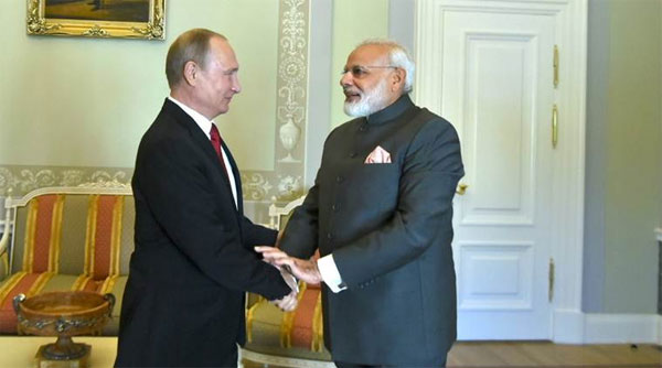 No tight military ties with Pak, Indo-Russia ties cannot be diluted: Putin