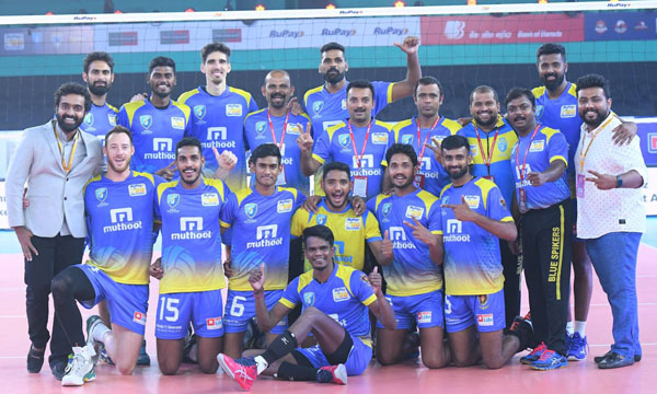Kochi Blue Spikers edge out Chennai Spartans in thriller