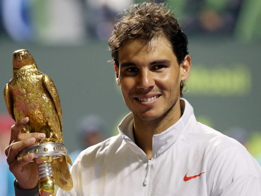 Nadal wins Qatar Open to take 61st career title