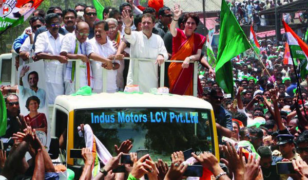UDF leading in 19 seats; Rahul Gandhi way ahead