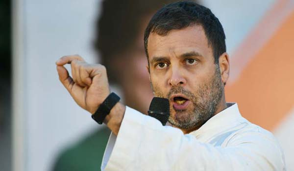 PM can waive Rs 3.5 lakh cr loans of bizmen, but not farm loans: Rahul Gandhi