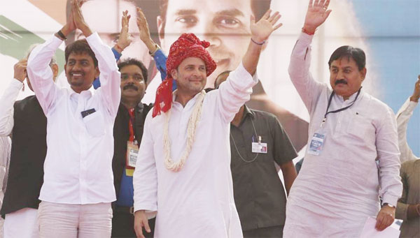 Congress with firm steps in Gujarat