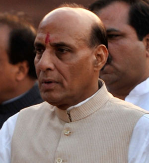 NDA government excellent, always on action mode: Rajnath