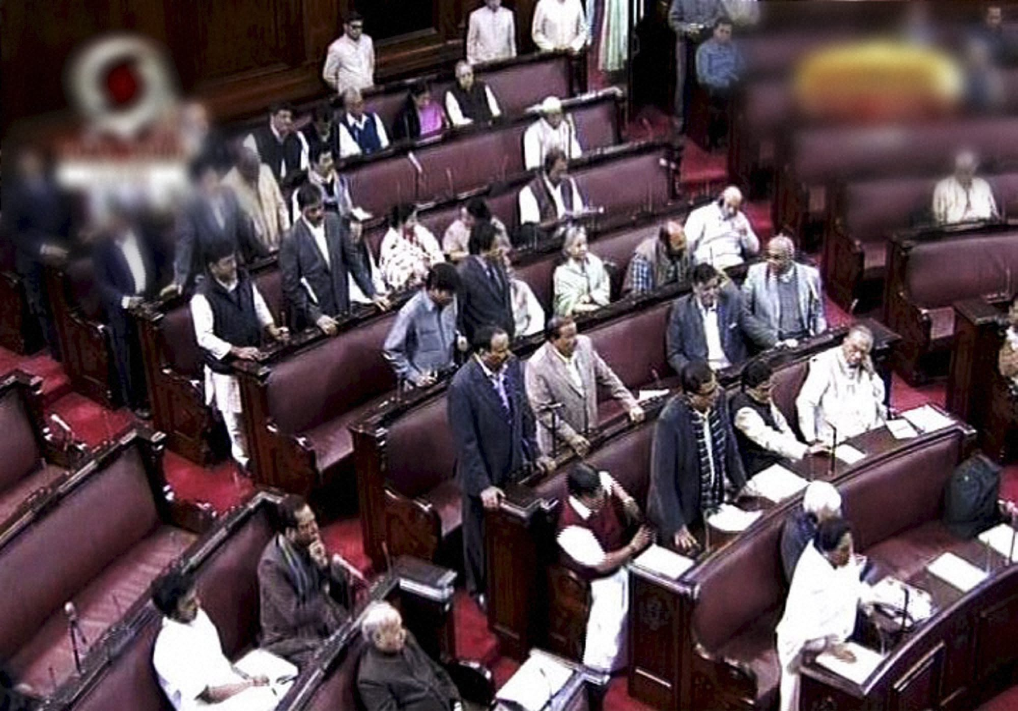 Rajya Sabha again adjourned over UPSC row