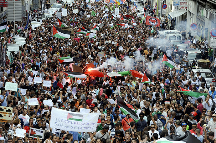 Millions protest globally against Israeli attack on Gaza