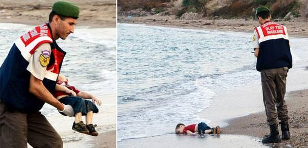 Syrian migrant boat capsize: Image of toddler sparks outrage on social media