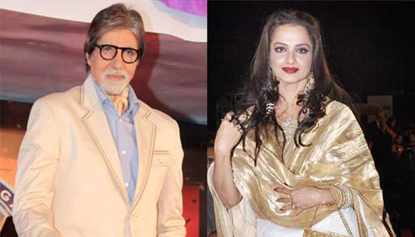 I am open to working with Rekha, says Amitabh Bachchan