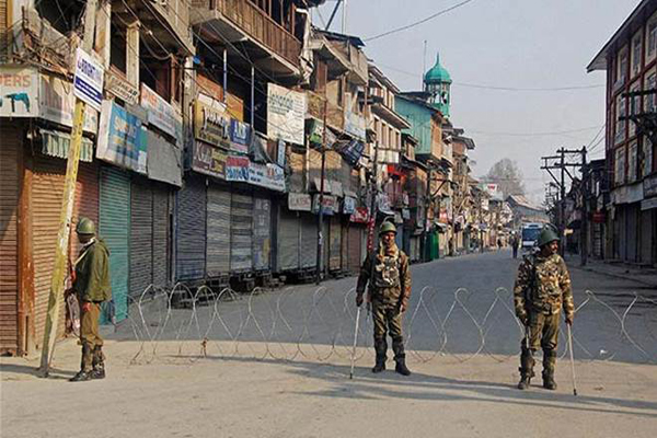 Restrictions in Srinagar to prevent separatist march