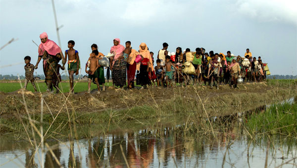Bangladesh plans to move reluctant Rohingya to remote island