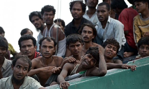 The Rohingya crisis
