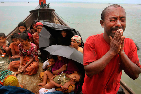 Dont utter a word about Rohingyans!