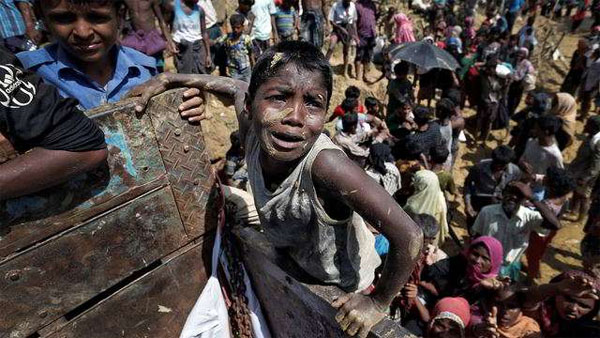 Nearly 58% Rohingya refugees are kids at risk