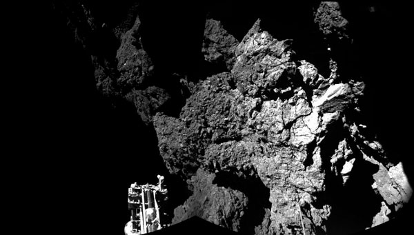 Rosetta comet mission shuts down, for now