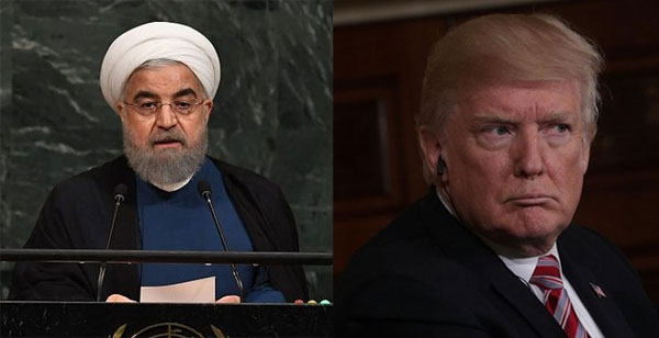 Iran says president Rouhani turned down a meeting with Trump