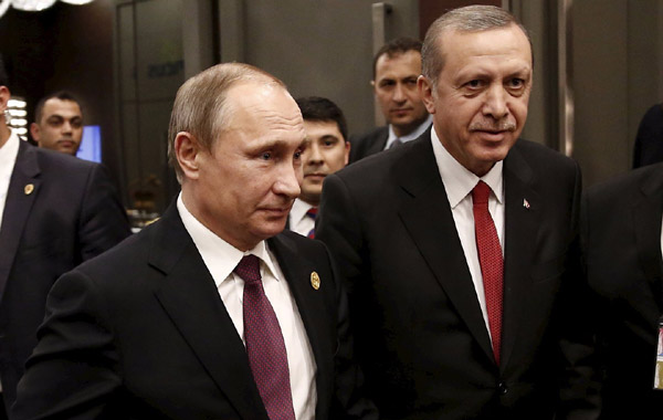 Russia unveils sanctions list against Turkey