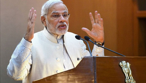 Partner with India, Modi urges foreign defence firms