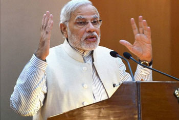 Help position India in leading role, Modi urges Indian envoys