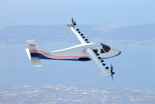 NASA to build electric-powered airplane Maxwell