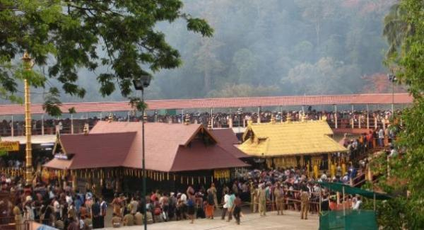 Elaborate security at Sabarimala for Makare Villeku