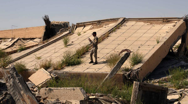 Saddam Husseins tomb destroyed in assault on Tikrit