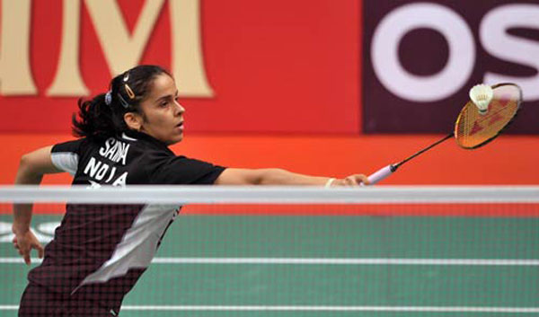 Saina cruises into the third round at World Badminton Championship