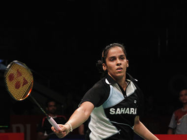 Saina drops two places to World No.8