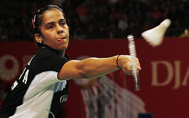 Saina in quarters of All England
